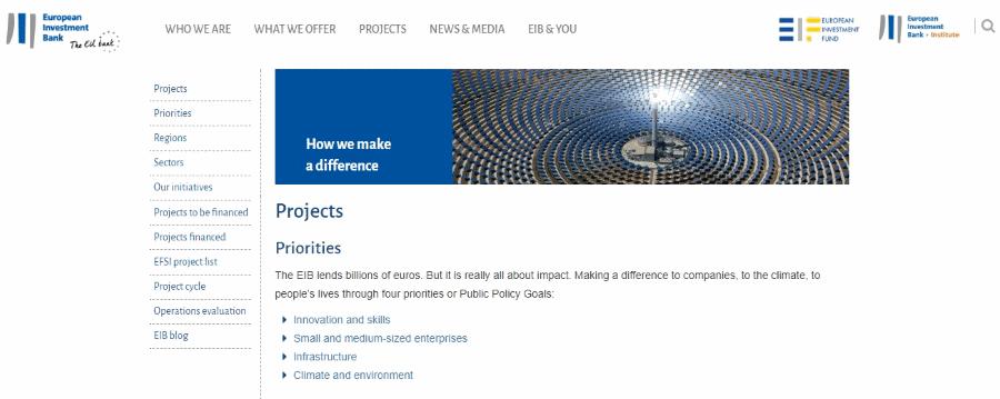 Banco Europeu Investimento