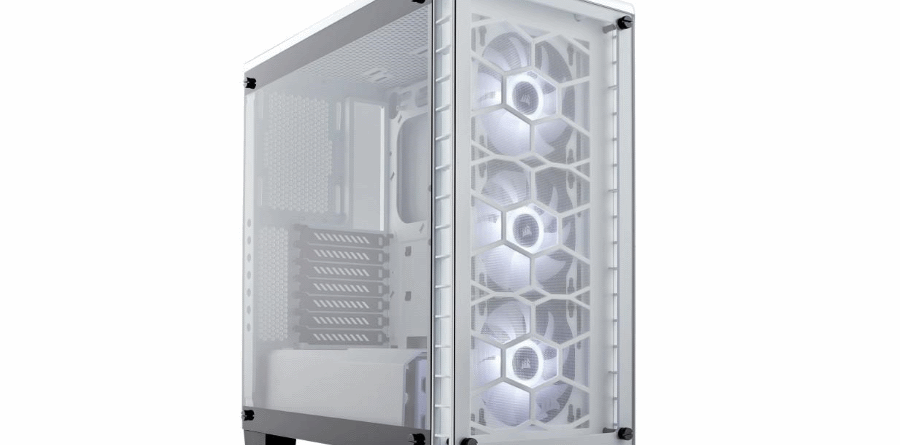 Corsair Crystal 460X White Edition