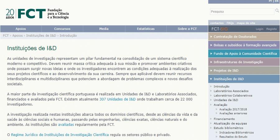 FCT Concurso