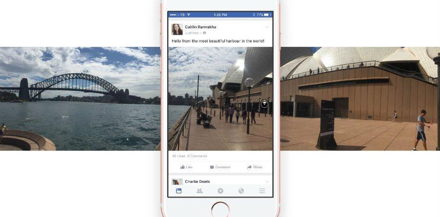 Fotos 360º Facebook foto 360º - Fotos 360 Facebook  1 900x445 - Crie uma foto 360º para o Facebook