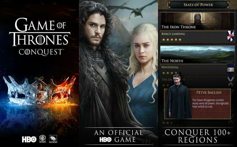 Game of Thrones Conquest app