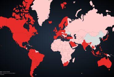 Mapa velocidade Netflix
