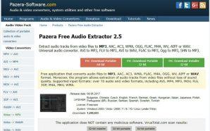 Passo 1 - Instalar Pazera Free Audio Extractor