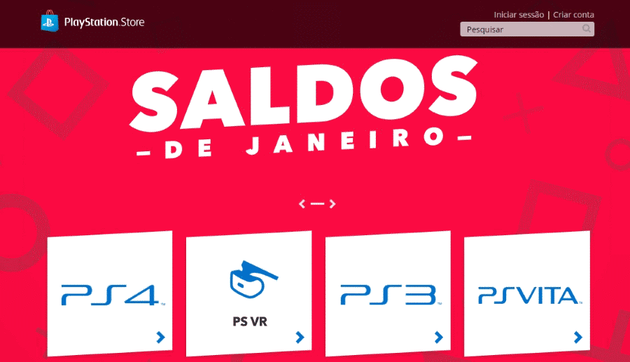 Saldos PlayStation Store