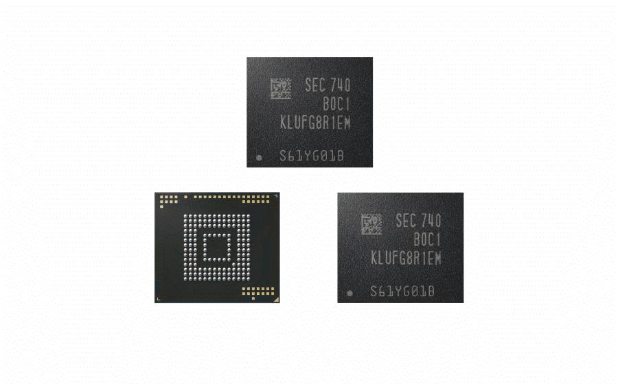 Samsung 512GB eUFS New