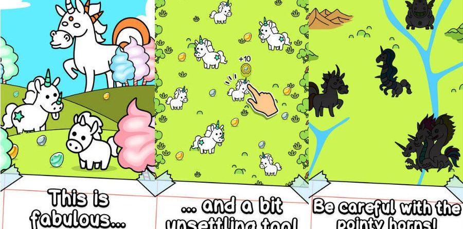 Unicorn Evolution app unicorn evolution - Unicorn Evolution app 900x445 - App do Dia – Unicorn Evolution