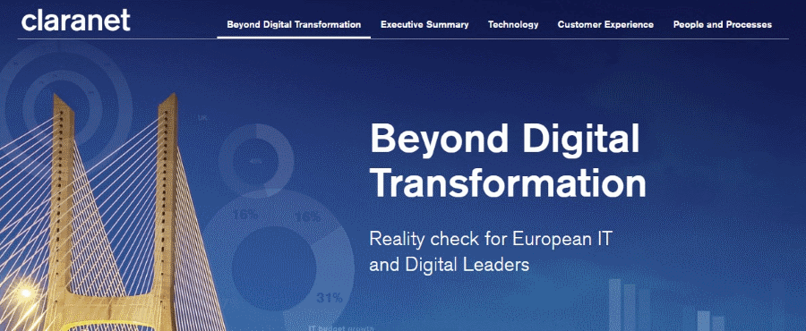 Beyond Digital Transformation Claranet