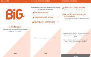 Banco BiG permite abertura de conta usando apenas a aplicação…