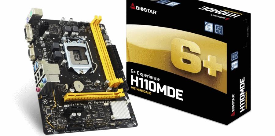 Biostar H110MDE New
