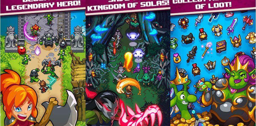 Dash Quest Heroes app dash quest heroes - Dash Quest Heroes app 900x445 - App do Dia – Dash Quest Heroes