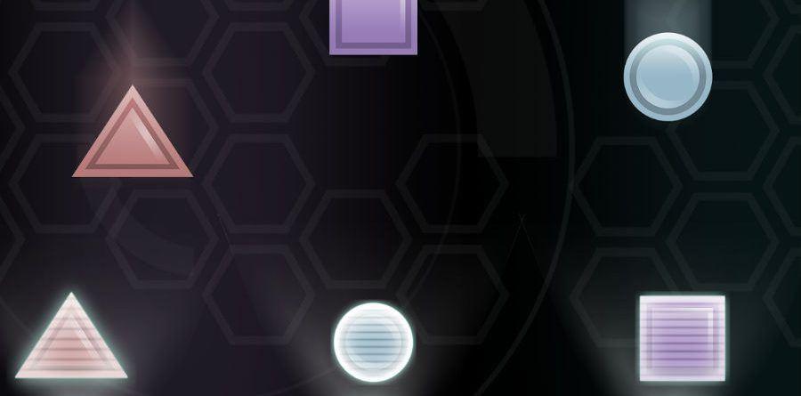 Fallen Shapes app