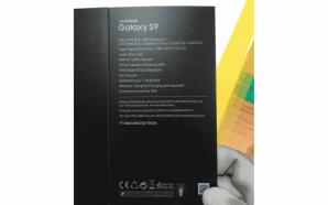 Galaxy S9 Box New