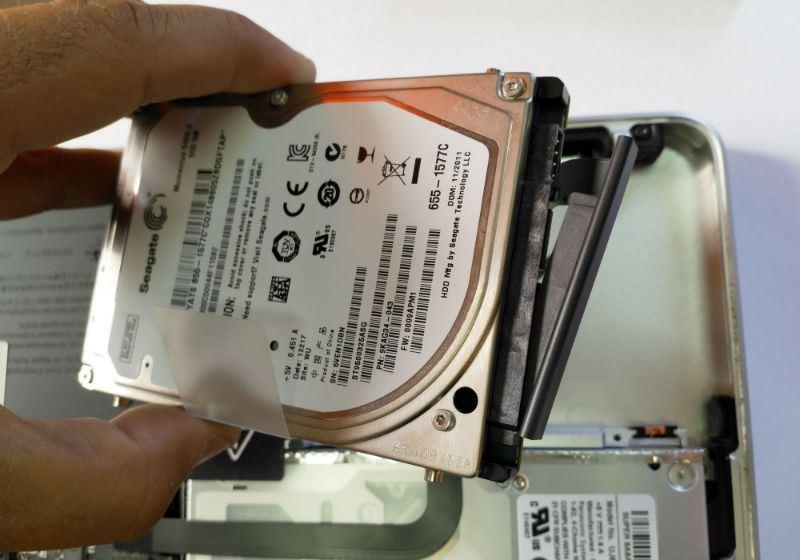 Macguia macbook SSD 7