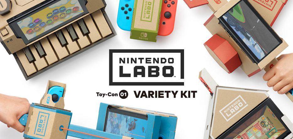 Nintendo Labo  - Nintendo Labo Head 933x445 - De casas a robôs: o Nintendo Labo deixa-o construir de tudo para dar nova vida à Switch
