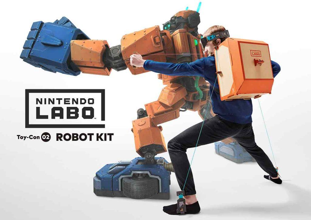 Nintendo Labo Robô  - Nintendo Labo Robo 1024x724 - De casas a robôs: o Nintendo Labo deixa-o construir de tudo para dar nova vida à Switch