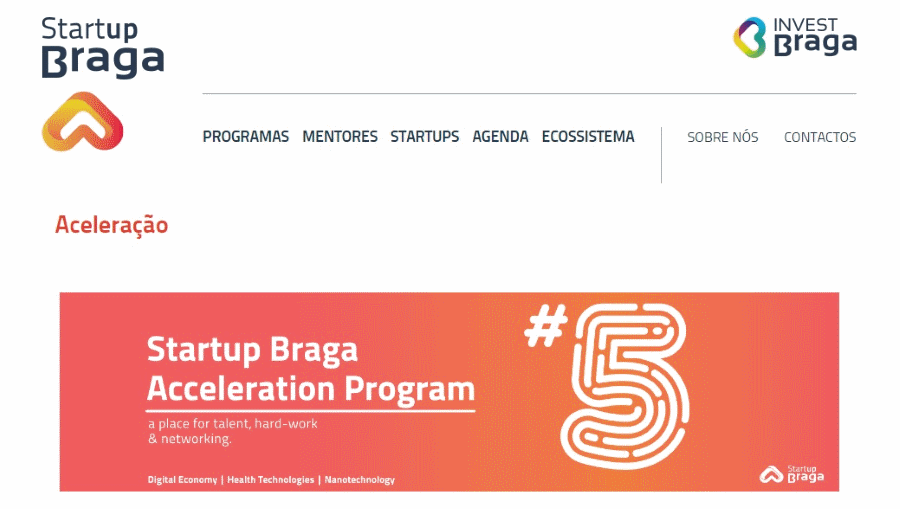 Programa Startup Braga