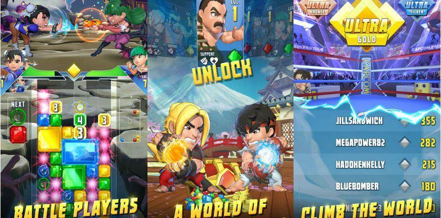 Puzzle Fighter app