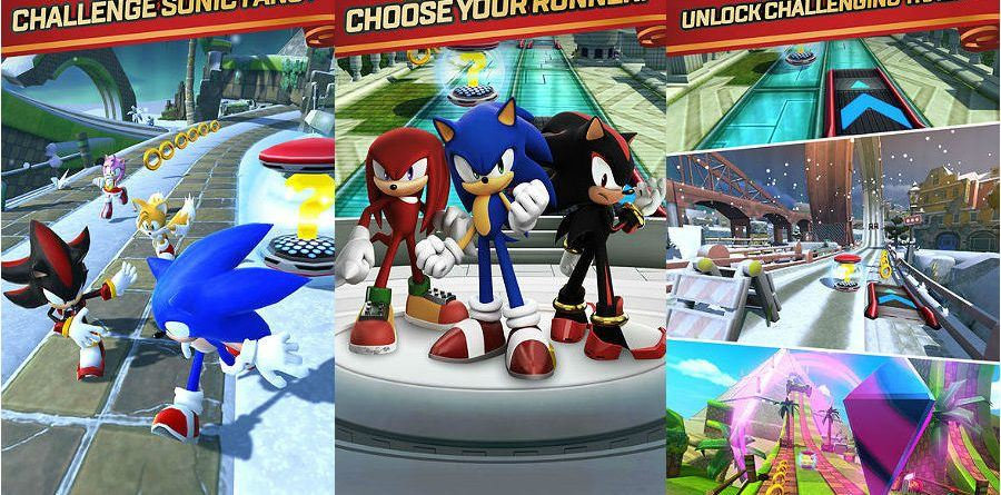 Sonic Forces Speed Battles app