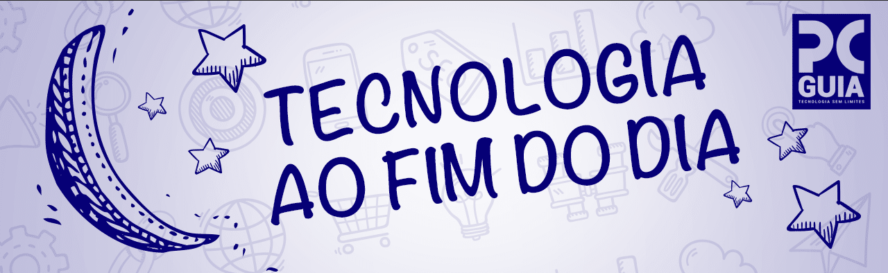 Tecnologia ao fim do dia - Header