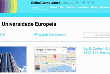 Universidade Europeia Global Game Jam