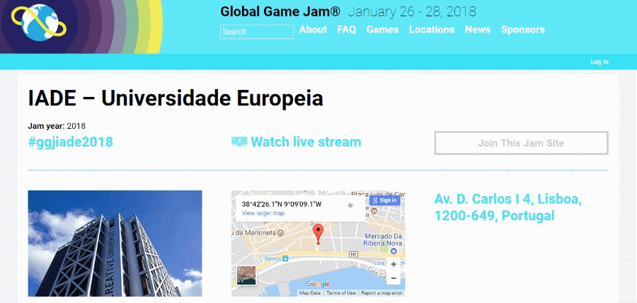 Universidade Europeia Global Game Jam