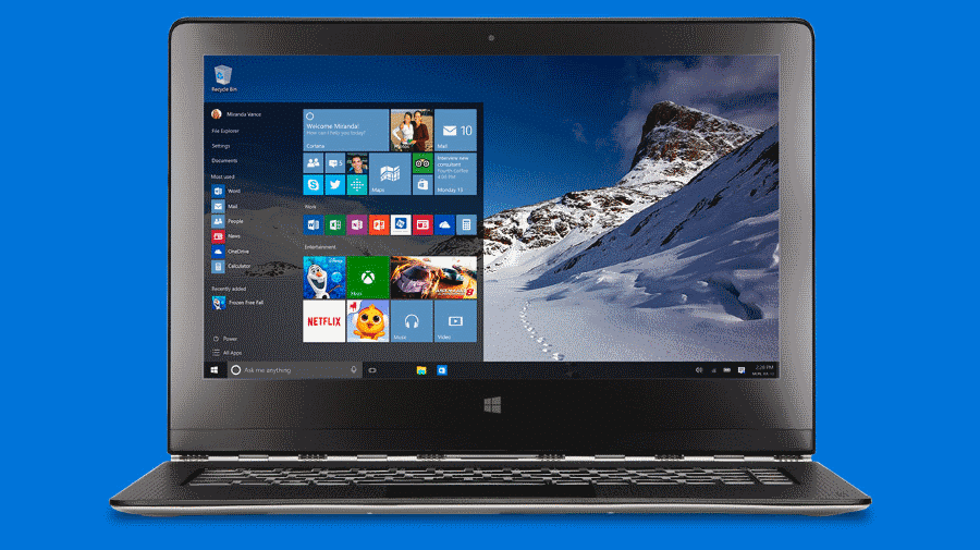 Windows 10 Hardware conta