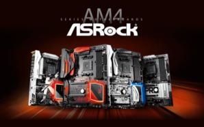 ASRock Motherboards AM4