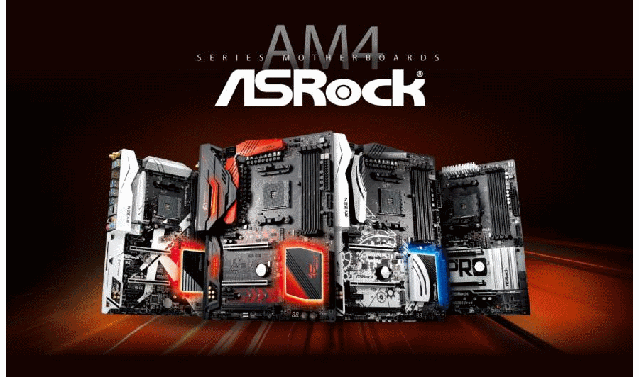 ASRock Motherboards AM4