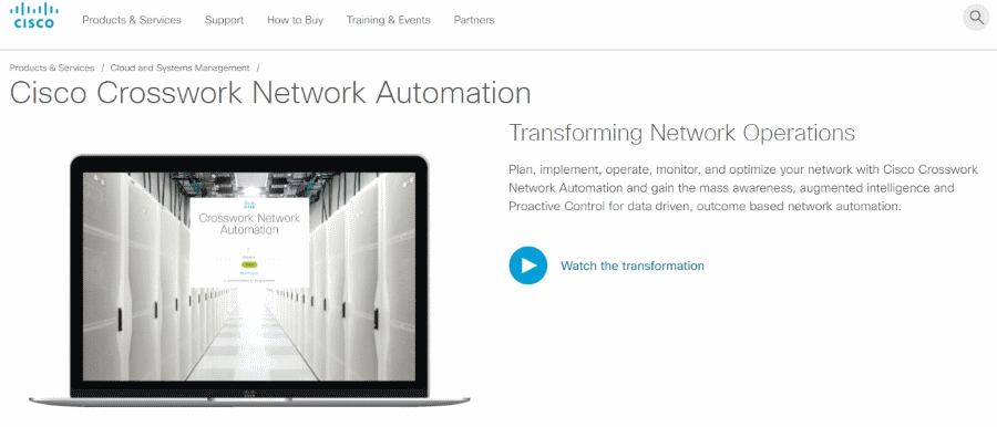 Cisco Crosswork Network Automation cisco Cisco apresenta portefólio de soluções Crosswork Network Automation Cisco Crosswork Network Automation
