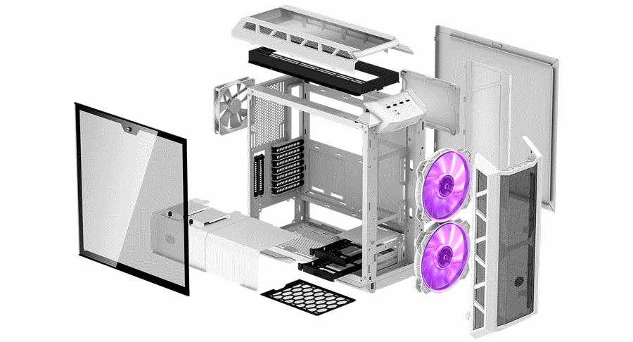 Cooler Master MasterCase H500P White Mesh