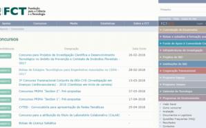 FCT Concursos