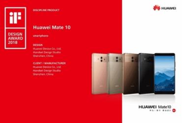 Huawei Mate 10 iF Design 2018