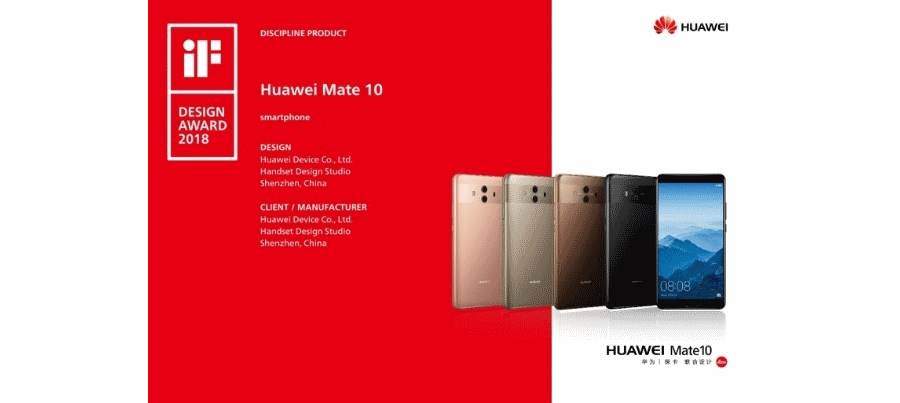Huawei Mate 10 iF Design 2018