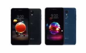 LG apresenta os smartphones K8 e K10