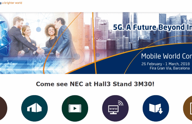 NEC Mobile World Congress