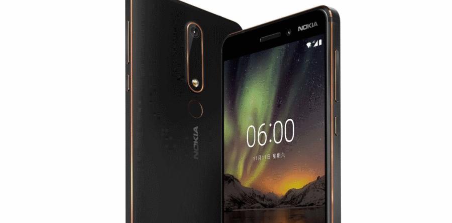 Nokia 6 Back New