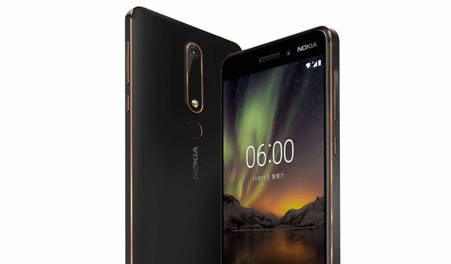 Nokia 6 Back New