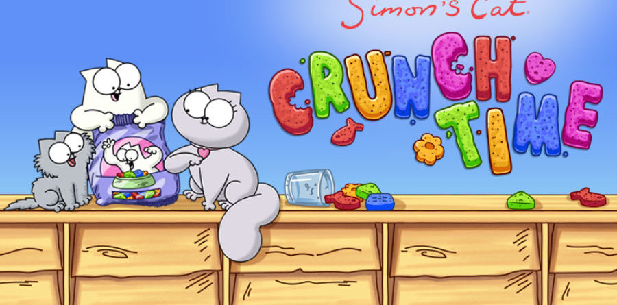 Simon's Cat Crunch Time simon's cat App do Dia – Simon's Cat – Crunch Time Simons Cat Crunch Time 900x445