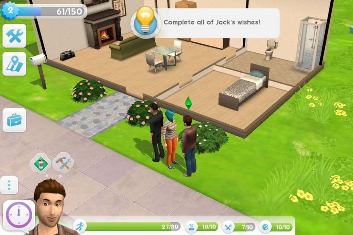 The Sims Mobile app