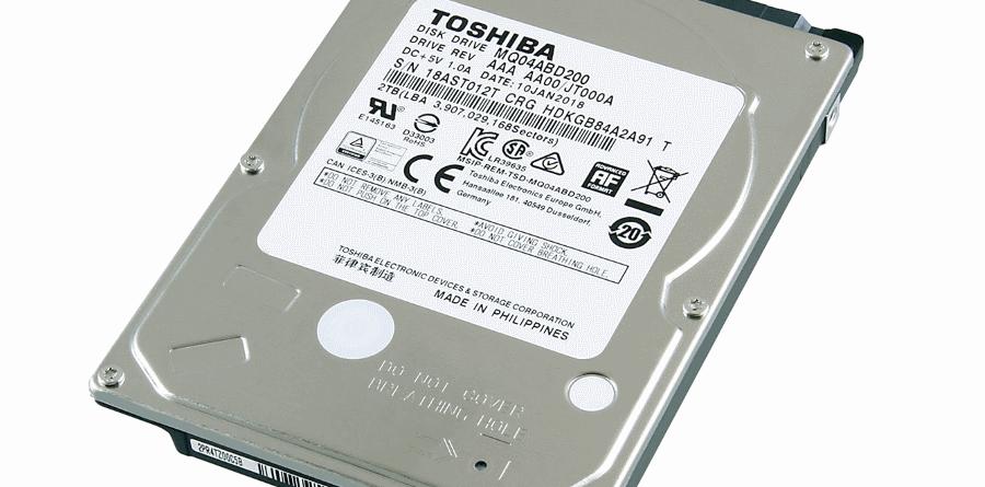 Toshiba MQ04ABD200 New