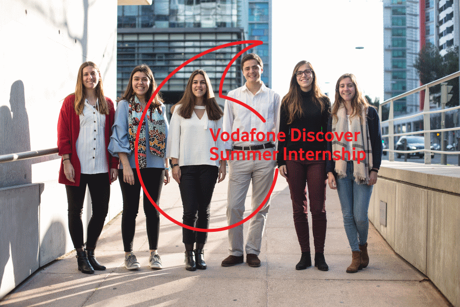 Vodafone Discover Summer Internship