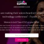 Web Summit Women in Tech