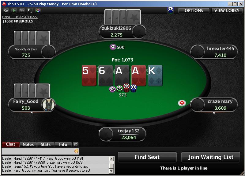 Source: Pokerstars. Foto por Pokerstars/ Divulgação  jogos - omaha hilo - Jogos que funcionam em qualquer PC