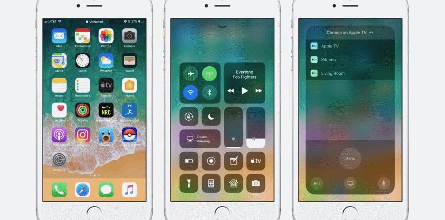 Apple iOS 11 apple - Apple iOS 11 900x445 - Apple lança quarta versão de teste da actualização iOS 11.3