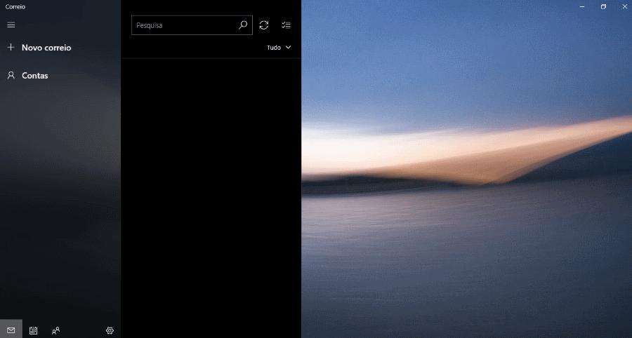 Correio Windows 10 New