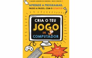 """Reedição do livro """"Cria o teu jogo de computador"""" disponível…"""