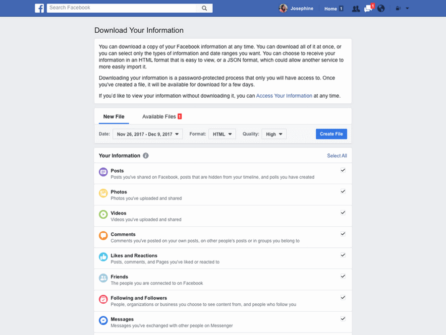 Facebook Desktop Fold New