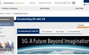 NEC anuncia transmissão de feixes digitais com sistema que suporta…