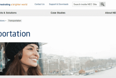 NEC Transportation Products Solutions