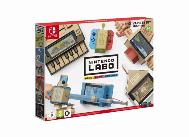 Nintendo Labo garage Nintendo revela novos detalhes sobre a Toy-Con Garage (Vídeo) Nintendo Labo 634x460